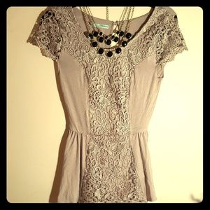 Maurices XS lace shirt
